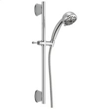 Chrome 5-Setting Slide Bar Hand Shower