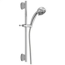 Chrome 5-Setting Slide Bar Hand Shower