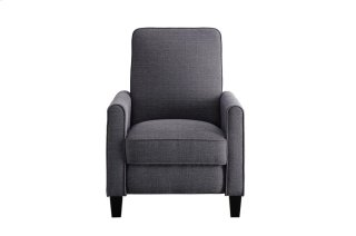 Push Back Reclining Chair, Gray