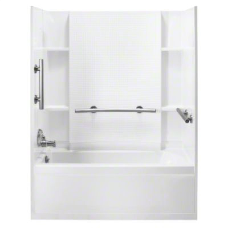 71140113N0 in White Wall With Nickel Grab Bar by Sterling in West ...