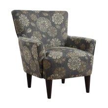 Emerald Home Flower Power Accent Chair Cascade Pewter U3655-05-19