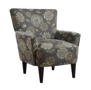 Emerald Home Flower Power Accent Chair Cascade Pewter U3655-05-19