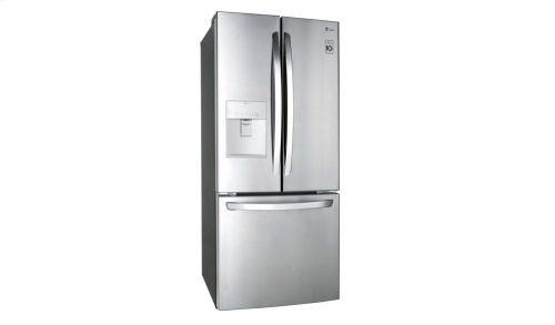 LFDS22520S - 22 cu.ft. French Door Refrigerator