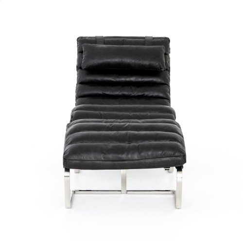 Chair + Ottoman Configuration Natural Washed Ebony Cover Goodwyn Chair + Ottoman