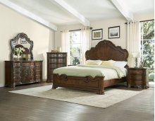 "Royale Rail for King or Queen Bed, 80.25""x1.6""x8"""