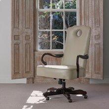 Queen Anne Desk Chair - Mahogany