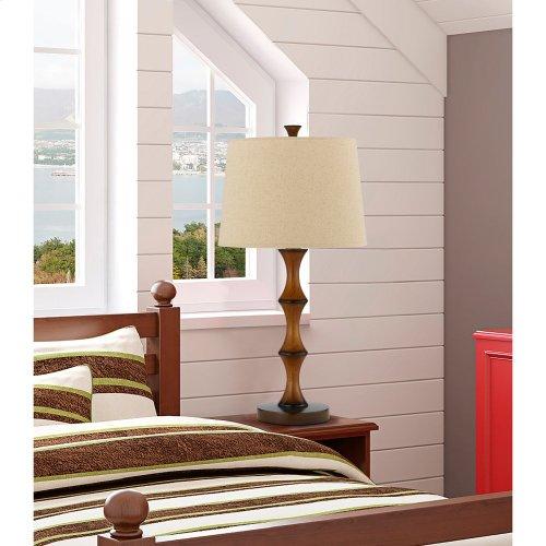 150W 3Way Resin Bamboo Table Lamp