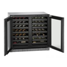 Modular 3000 Series 36 Cm Wine Cellar With Integrated Frame Finish and Double Doors Door Swing (220-240 Volts / 50 Hz)