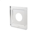 Smart Choice Square Chrome Burner Pan, Fits Most Product Image