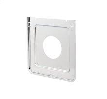 Smart Choice Square Chrome Burner Pan, Fits Most
