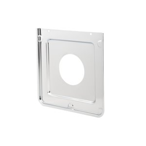 Smart Choice Square Chrome Burner Pan, Fits Most -
