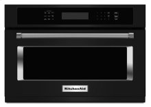 24" Built In Microwave Oven with 1000 Watt Cooking - Black