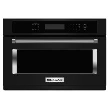 "24"" Built In Microwave Oven with 1000 Watt Cooking - Black"