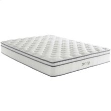 "Jenna 10"" Queen Pillow Top Innerspring Mattress"