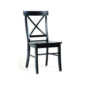 JOHN THOMAS FURNITUREX-Back Chair in Black