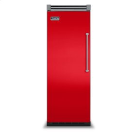 "Racing Red 30"" Quiet Cool™ All Freezer - VIFB Tru-Flush™ (Left Hinge Door)"