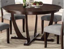 """Elantra Pedestal 54"""" Round Dining Table"""