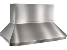 "Centro Island - 42"" x 32"" Stainless Steel Island Range Hood with the modular option of 13 different internal and external blower options, including the iQ6 and iQ12 Blower System"