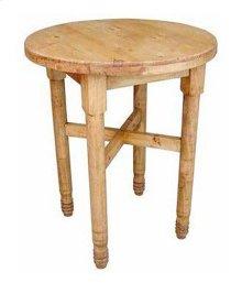 Plain Round Leg Bar Table