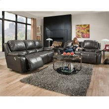 Power Reclining Loveseat w/Power Backrest