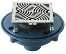 "DECO SWIRL STYLEDRAIN SET WITH 3"" NO-HUB Product Image"