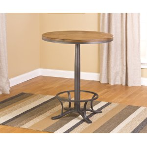 Hillsdale FurnitureWestview Bar Height Bistro - Ctn A - Table Top and Post Only