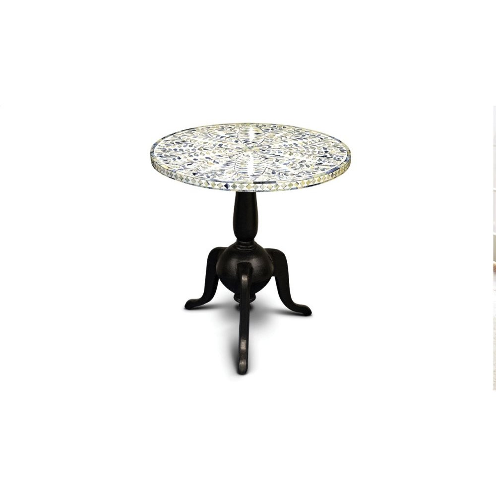 """Silva Round Side Table 24"""" x 24"""" x 25""""H"""