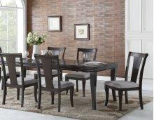 """Aubrey Side Chair, Espresso 20""""x25""""x40"""""""