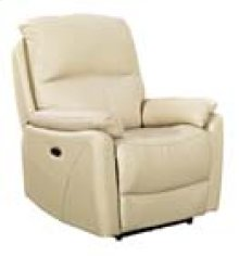 REC-349 Brazil Beige Leather Recliner