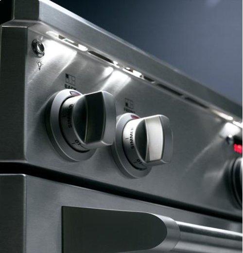 "Monogram 36"" Dual-Fuel Professional Range with 6 Burners (Natural Gas)"
