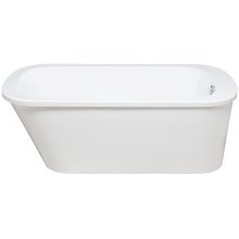 Tub Only/Soaker 2 Piece Freestanding without Airbath