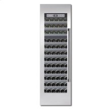 "24"" STAINLESS STEEL FREEDOM WINE COLUMN W/ PRO HANDLE"