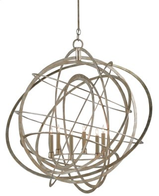 Genesis Chandelier - 37h x 35dia., adjustable from 58h to 117h