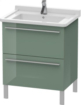 Vanity Unit Floorstanding, Jade High Gloss Lacquer