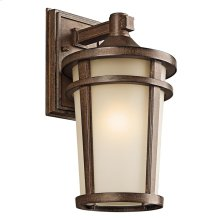 Atwood Collection Atwood 1 Light Outdoor Wall Lantern in BST