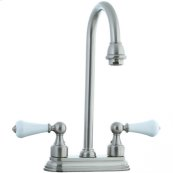 "Asbury - 4"" Centerset Bar Faucet - Polished Chrome"