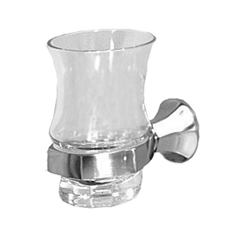 Polished-Nickel Tumbler