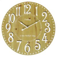 Perfect Day-I Wall Clock Product Image