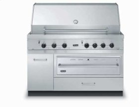 """53"""" W x 30"""" D Base w/36"""" Warming Drawer Opening - VQWO (53"""" wide - Grill Base with 36"""" wide Warming Drawer opening (warming drawer sold seperately); 2 drawers, 1 door)"""