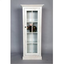 "#487 One Door Cabinet 24""wx14""dx59.5""h"