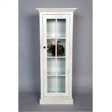 """#487 One Door Cabinet 24""""wx14""""dx59.5""""h"""