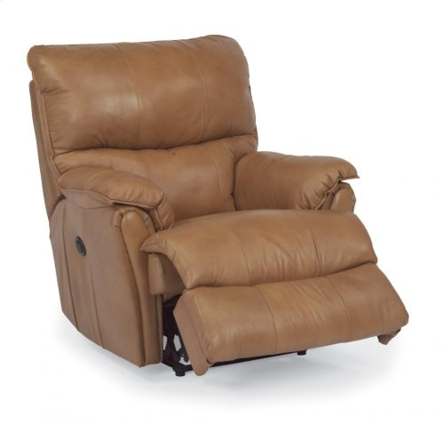 Stockton Leather or Fabric Power Recliner