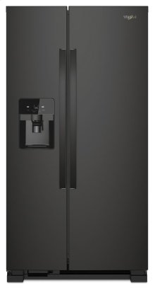 33-inch Wide Side-by-Side Refrigerator - 21 cu. ft.