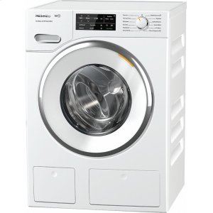 MieleWwh660 Lotus White Front-Loading Washing Machine With Twindos, Capdosing, And Wificonnect.