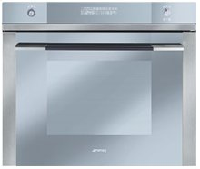 """70CM (approx 27"""") """"Linea"""" Electric Multifunction Oven Stainless Steel and Glass"""