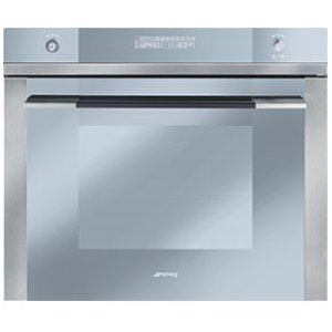 "Smeg70CM (approx 27"") ""Linea"" Electric Multifunction Oven Stainless Steel and Glass"