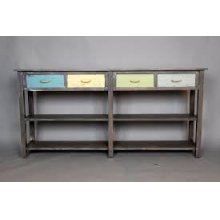 """#494 Weston Console Table 72""""wx14.5""""dx35""""h"""