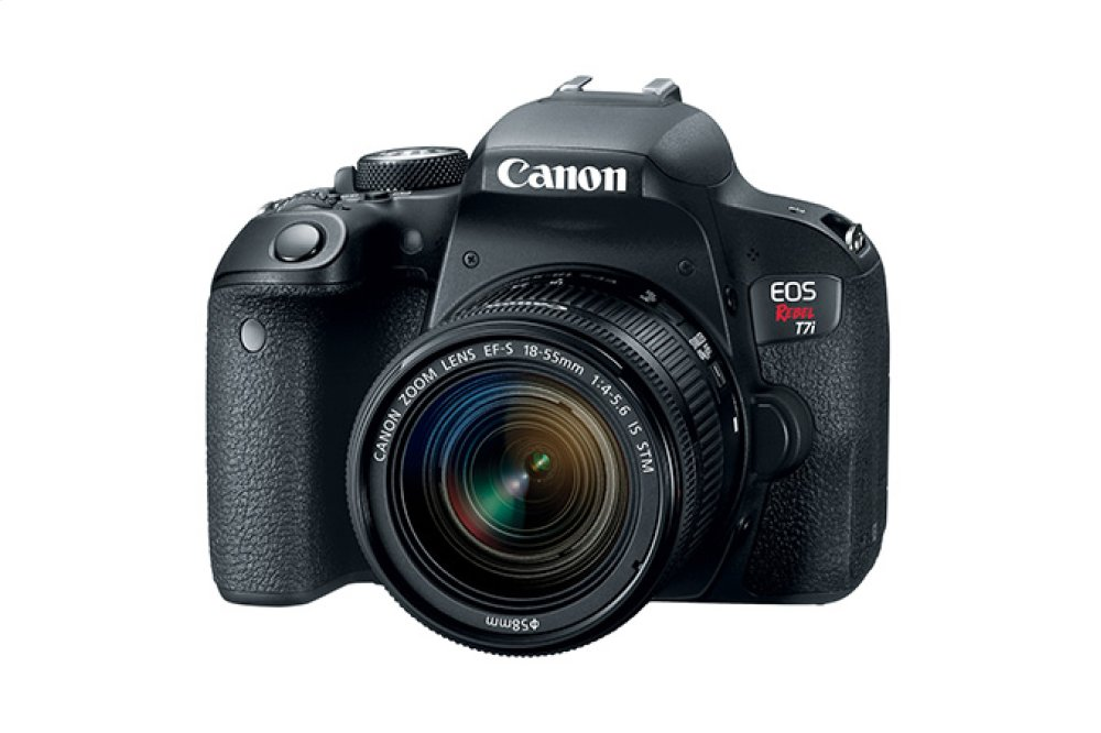 Canon EOS Rebel T7i EF-S 18-55mm f/4-5.6 IS STM Lens Kit EOS Digital SLR