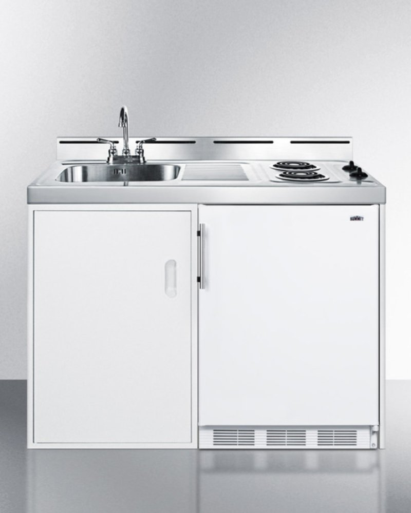 48 Wide All In One Kitchenette With Two Coil Burners A Cycle