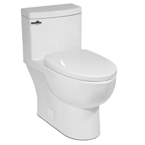 Balsa MALIBU II One-Piece Toilet 1.28gpf, Compact Elongated